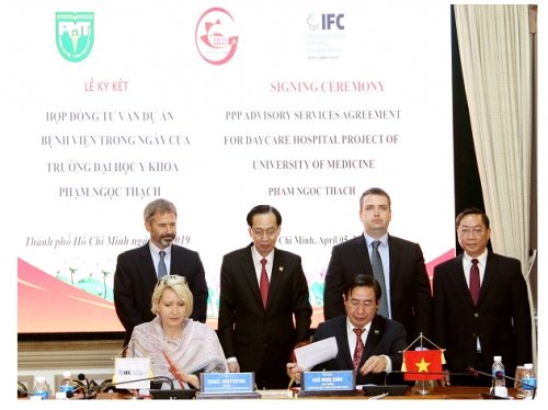 IFC hỗ trợ xây dựng cơ sở y tế tại TP. Hồ Chí Minh