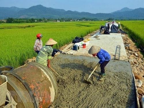Công nhận thành phố Hòa Bình hoàn thành xây dựng nông thôn mới