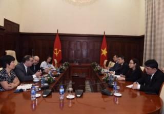 Thống đốc Lê Minh Hưng tiếp tân Trưởng đại diện IMF tại Việt Nam