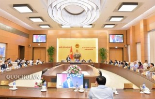 Thường vụ Quốc hội sẽ cho ý kiến về việc chuẩn bị Kỳ họp thứ 7
