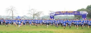 """Giải chạy """"Nụ cười BIDV"""" khu vực Hà Nội"""