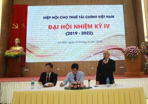 Hiệp hội Cho thuê tài chính Việt Nam tổ chức Đại hội nhiệm kỳ IV