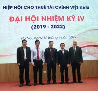 Ra mắt Ban chấp hành Hiệp hội Cho thuê tài chính nhiệm kỳ IV