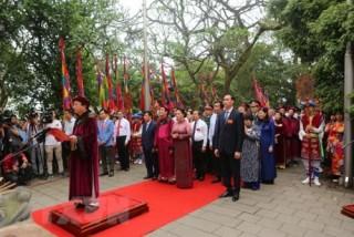 Linh thiêng lễ Giỗ Tổ Hùng Vương năm 2019 trên đỉnh Nghĩa Lĩnh