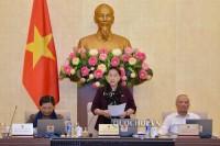 Bế mạc Phiên họp thứ 33 Ủy ban Thường vụ Quốc hội