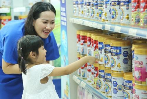 Vinamilk dẫn đầu ở cả 2 ngành hàng lớn là sữa nước và sữa bột trẻ em