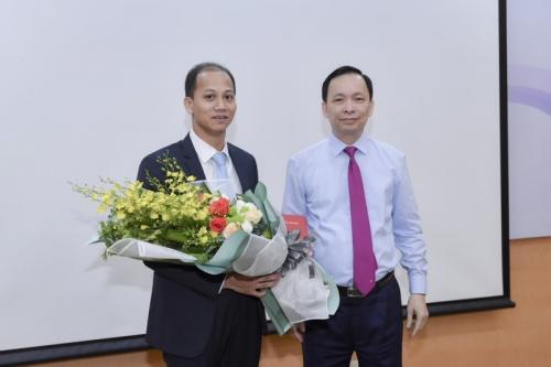 Ngân hàng Nhà nước bổ nhiệm Phó Vụ trưởng Vụ Tài chính – Kế toán