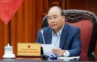 Thủ tướng chủ trì họp Chính phủ trực tuyến phiên thường kỳ tháng 3