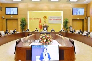 Ủy ban Thường vụ Quốc hội họp phiên bất thường, cho ý kiến về các biện pháp hỗ trợ người dân