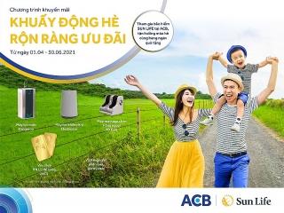 """Sun Life Việt Nam giới thiệu chương trình """"Khuấy động Hè rộn ràng ưu đãi"""" dành cho kênh phân phối ACB"""