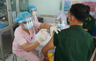 Sáng 7/4, không có ca mắc mới, gần 54.000 người đã tiêm vaccine