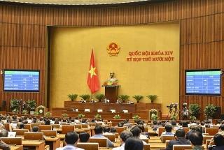 Hôm nay, Quốc hội tiếp tục kiện toàn nhân sự của Quốc hội và Chính phủ