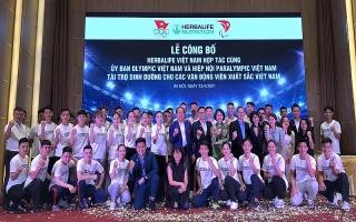 Herbalife Việt Nam công bố tài trợ sản phẩm dinh dưỡng cho các vận động viên xuất sắc Việt Nam