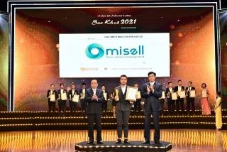 Omisell - sản phẩm lĩnh vực chuyển đổi số đạt giải Sao Khuê 2021