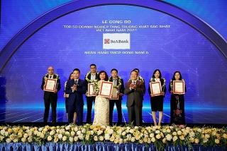 SeABank được vinh danh Top 50 doanh nghiệp tăng trưởng xuất sắc nhất Việt Nam