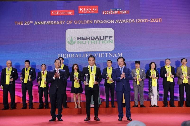herbalife nutrition duoc vinh danh la thuong hieu thuc pham bo sung dinh duong hang dau