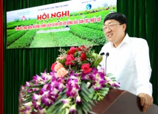 Tổng kết tín dụng chính sách đối với  hộ dân tộc thiểu số tại Lai Châu