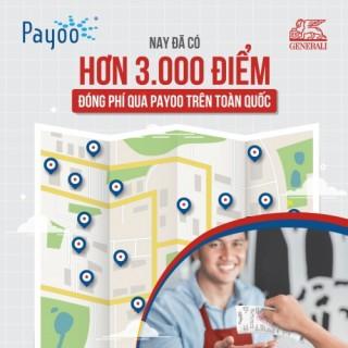 Đóng phí bảo hiểm qua các điểm thanh toán của Payoo