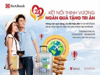 Cơ hội nhận 7 chuyến du lịch dịp sinh nhật SeABank
