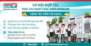 Kienlongbank tuyển dụng cộng tác viên tín dụng