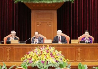 Ngày làm việc thứ nhất của Hội nghị lần thứ 10 Ban Chấp hành Trung ương Đảng khoá XII