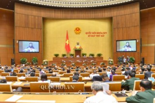 Hôm nay Quốc hội thảo luận ở hội trường về dự án Luật Giáo dục (sửa đổi)
