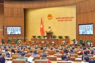 Quốc hội thảo luận ở tổ về việc phân bổ nguồn dự phòng đầu tư công trung hạn