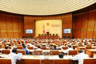 Quốc hội nghe trình dự án Bộ Luật Lao động (sửa đổi)