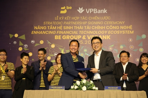 Hợp tác giữa BE GROUP và VPBank hướng đến hệ sinh thái tài chính công nghệ