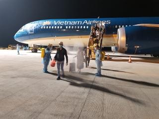 Chuyến bay hồi hương công dân Việt Nam đầu tiên từ khu vực Trung Đông