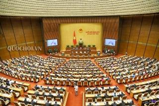 Khai mạc Kỳ họp thứ 9, Quốc hội khóa XIV, trực tuyến từ Nhà Quốc hội tới 63 đoàn