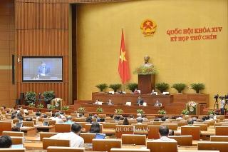 Ngày làm việc thứ hai, Quốc hội thảo luận về dự án Luật Doanh nghiệp