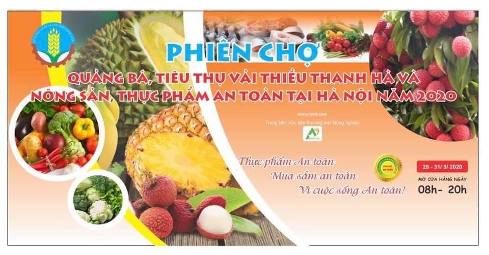 khoi dong phien cho quang ba tieu thu vai thieu thanh ha va nong san