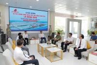 Đoàn công tác Chính phủ khảo sát tiến độ triển khai các Khu công nghiệp và Cảng Quốc tế Long An