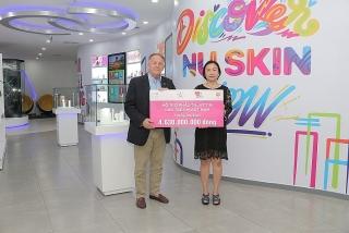 Nu Skin Việt Nam tiếp tục đóng góp 4,6 tỷ đồng hỗ trợ trẻ em bị bệnh tim bẩm sinh
