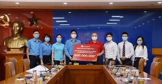SeABank dành gần 1,7 tỷ đồng hỗ trợ công nhân, người dân bị ảnh hưởng bởi COVID-19