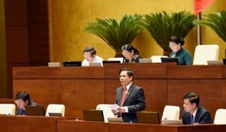 Chất vấn Bộ trưởng Nguyễn Văn Thể: 'Nóng' lĩnh vực BOT giao thông
