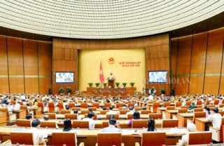 Quốc hội họp phiên bế mạc kỳ họp thứ 5