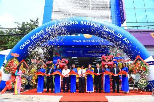BAOVIET Bank khai trương thêm điểm giao dịch tại Bình Dương
