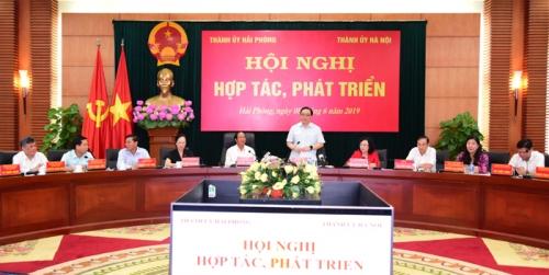 Hà Nội và Hải Phòng tăng cường hợp tác trong công tác quy hoạch