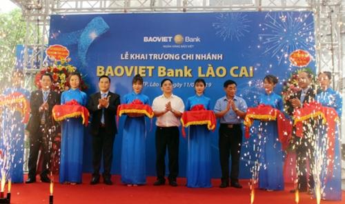 BAOVIET Bank khai trương chi nhánh Lào Cai