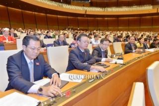 Quốc hội thông qua Nghị quyết Kỳ họp thứ 7, Quốc hội khóa XIV
