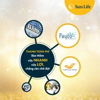 Sun Life Việt Nam thêm kênh thu phí bảo hiểm qua VNPOST và PAYOO
