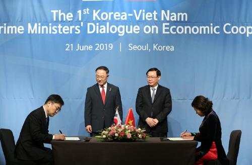 Việt, Hàn đạt nhiều thỏa thuận trong đối thoại kinh tế cấp Phó Thủ tướng lần đầu