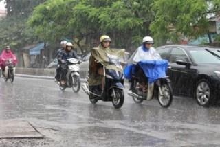 Hà Nội sắp đón mưa rào, chấm dứt nắng nóng