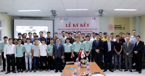 Đại học Đông Á chú trọng việc làm cho sinh viên