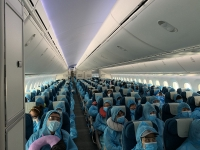 Chuyến bay đầu tiên đưa hơn 340 công dân Việt Nam tại Đài Loan (Trung Quốc) về nước