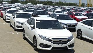 Nhập khẩu ô tô nguyên chiếc giảm mạnh