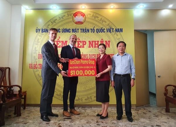 eurocham pharma group chung tay ung ho phong chong dich covid 19