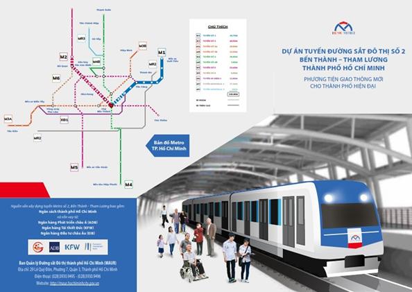 TP. HCM: Tuyến metro số 2 khó hoàn thành giải phóng mặt bằng như kế hoạch